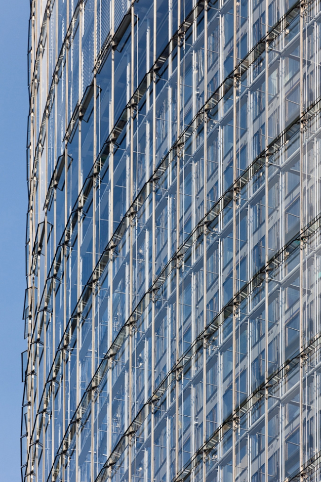 Башня Deutsche Post. Фото: Rainer Viertlboeck. Предоставлено CTBUH