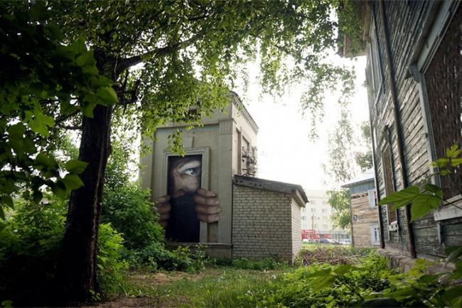 Граффити в Выксе. Фото с сайта vykza.ru