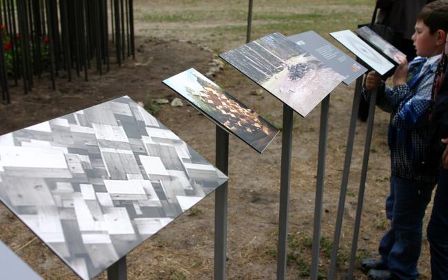 Объект «Нигде» (памяти «Большого Джинни»), бюро «Народный архитектор». Фото Марины Игнатушко