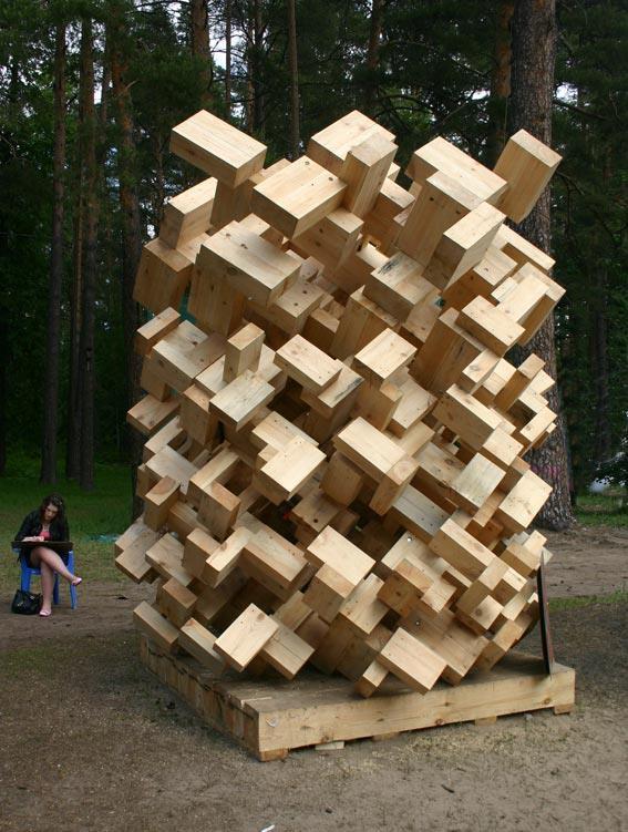 Джон Пауэрс «Большой Джинни». Объект уничтожен. Фото Марины Игнатушко