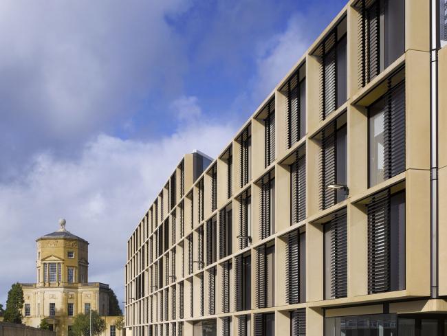 Институт математики Оксфордского университета © Will Pryce