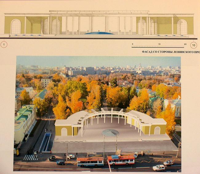 Павильон на Ленинском проспекте