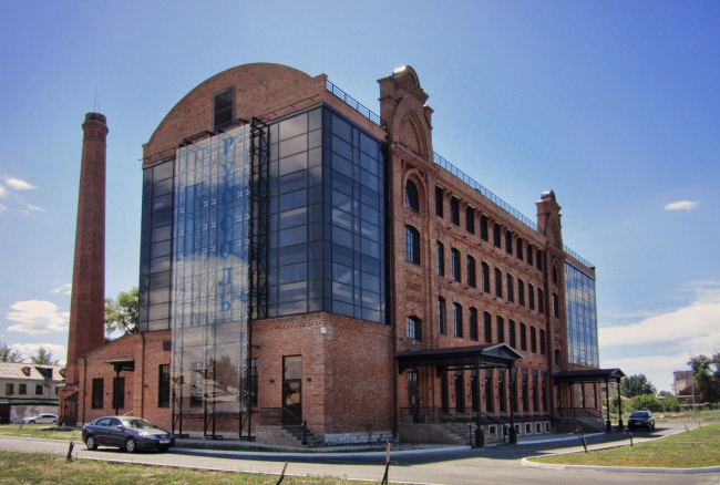 Реконструкция мельницы И.А. Зарывнова под офисный центр