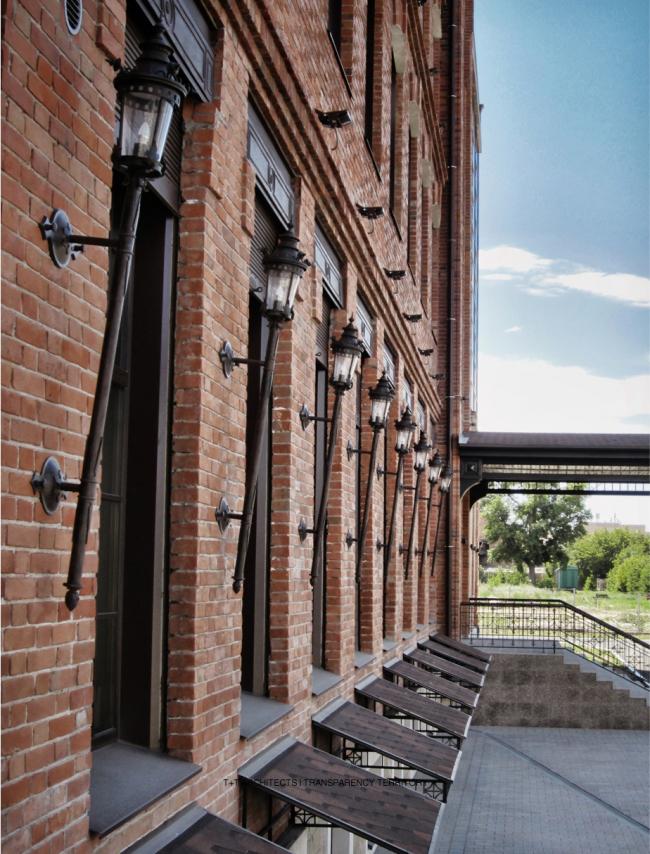 Реконструкция мельницы И.А. Зарывнова под офисный центр © Т+Т Architects, Mealhouse Concept Design