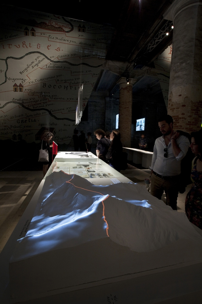 Italian Limes. Фото: Francesco Galli. Предоставлено Biennale di Venezia