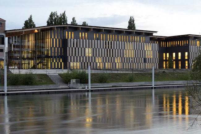 Центр искусств и культуры Безансона © Nicolas Waltefaugle