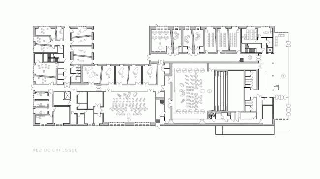 Центр искусств и культуры Безансона © Кенго Кума