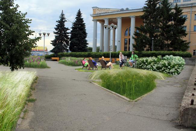 Комната театрала (Чебоксары). Проект Марины Черепановой