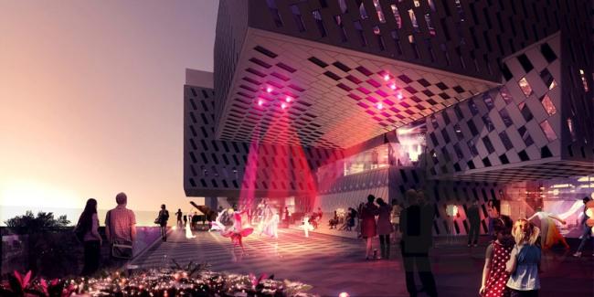 Центр музыки и танца в Ашкелоне © luxigon