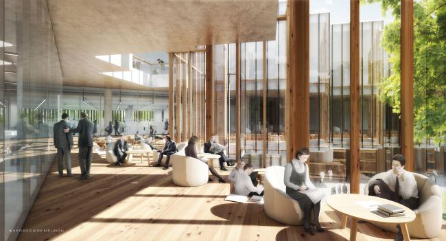 Исследовательский центр и штаб-квартира фармацевтической компании AstraZeneca © Herzog & de Meuron