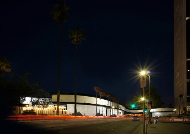 Новое здание Музея искусств округа Лос-Анджелес LACMA © Atelier Peter Zumthor & Partner