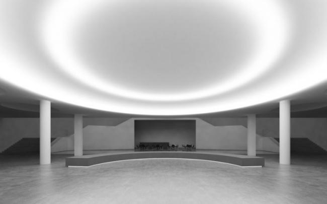 Центр современного искусства Ударник, Москва. BLANC ARCHITECTS. Изображение: http://blankarchitects.ru