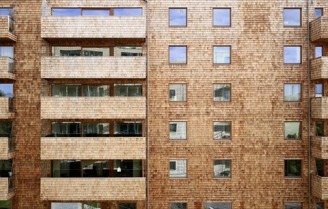 Корпус B жилого массива Strandparken © Tord-Rickard Sîderstrîm
