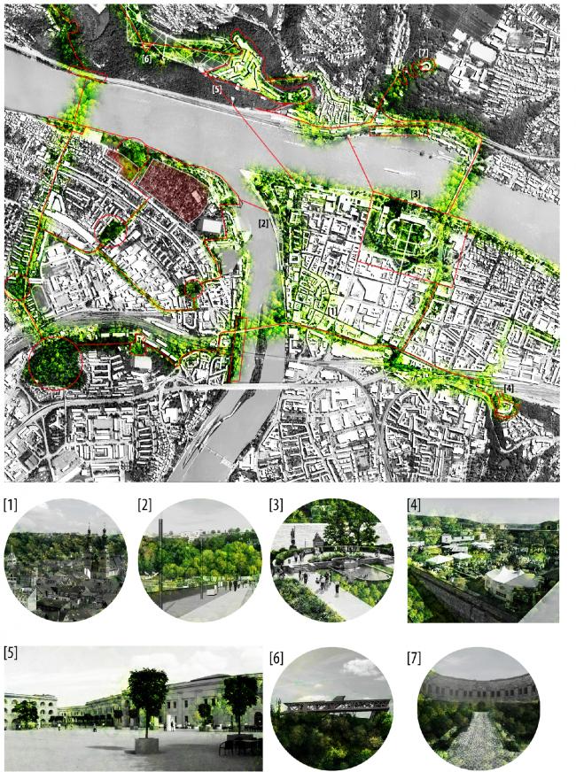 Анализ. Проект «Крепость Кобленц – Новые возможности свободных пространств». © Автор: Элизабет Пабст