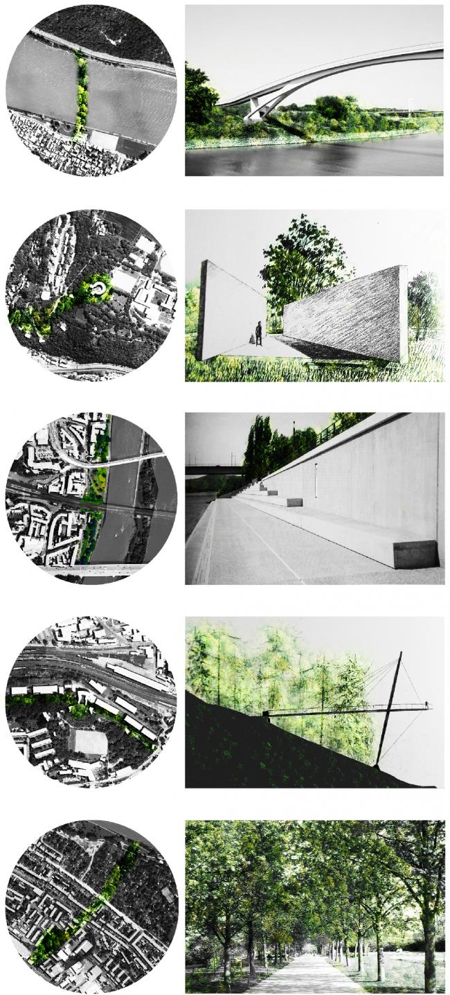 Решения. Проект «Крепость Кобленц – Новые возможности свободных пространств». © Автор: Элизабет Пабст