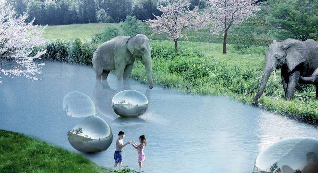 Зоопарк в Гиускуде © BIG