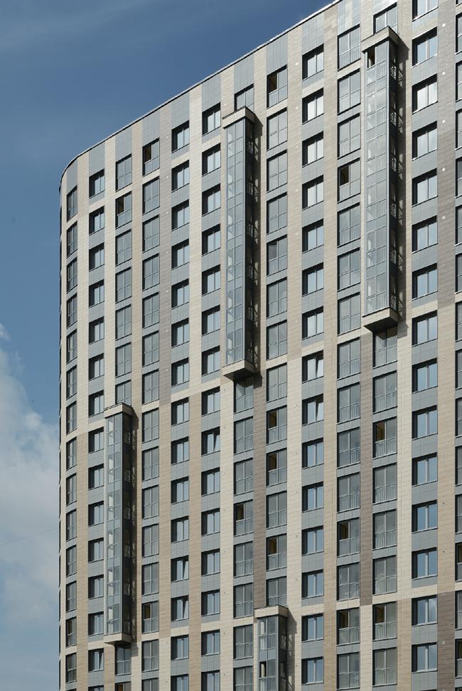 "Residential complex ""YE′S"" © Eugene Gerasimov and Partners"