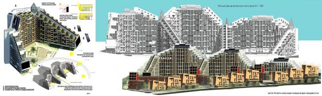 Студенческие проект для устойчивого развития Владивостока. Изображение: arhinovosti.ru