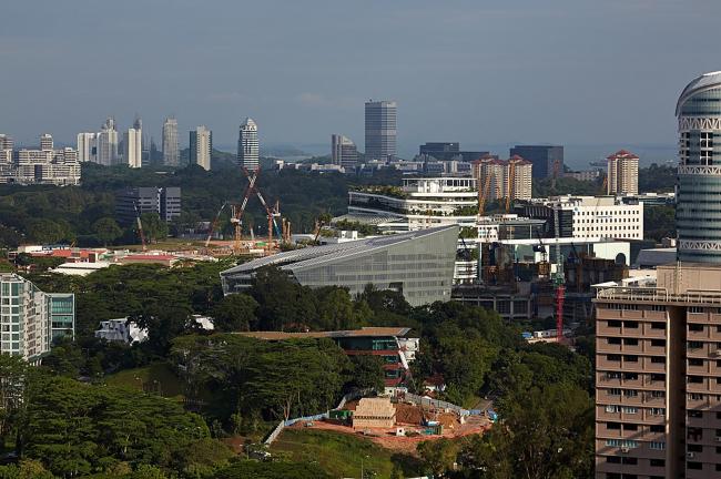 Sandcrawler – штаб-квартира Lucasfilm Singapore © Aedas