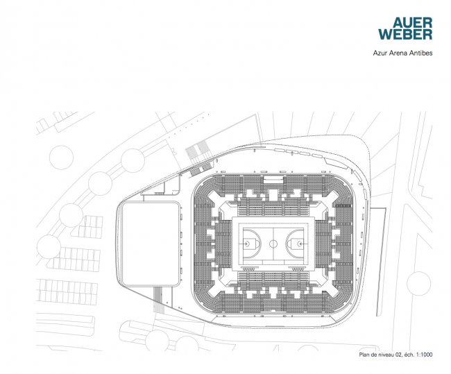 Спорткомплекс Azur Arena © Auer Weber