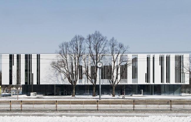 Штаб-квартира Bestattung Wien GmbH и Friedhofe Wien GmbH © Herta Hurnaus
