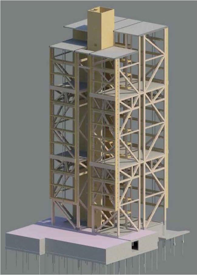 Treet - конструктивная модель © Rune Abrahamsen