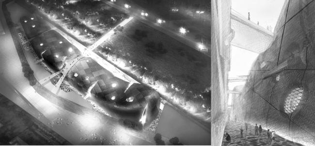 Музей ГЦСИ. Конкурсный проект © Архитектурная мастерская Сергея Эстрина