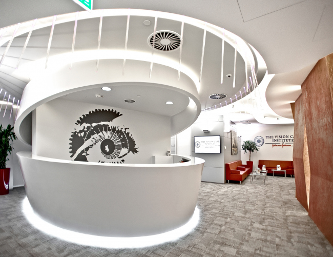 Johnson&Johnson Visual Care Institute 2. 2013 © Sergey Estrin Architects