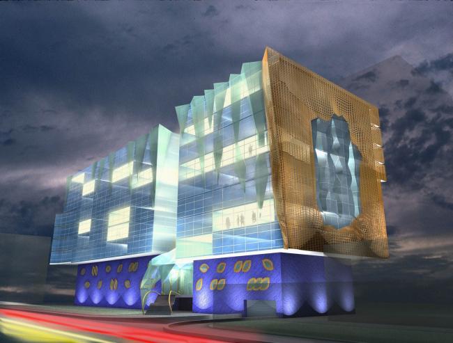 Жилой комплекс для Капитал Груп. 2004 © Архитектурная мастерская Сергея Эстрина