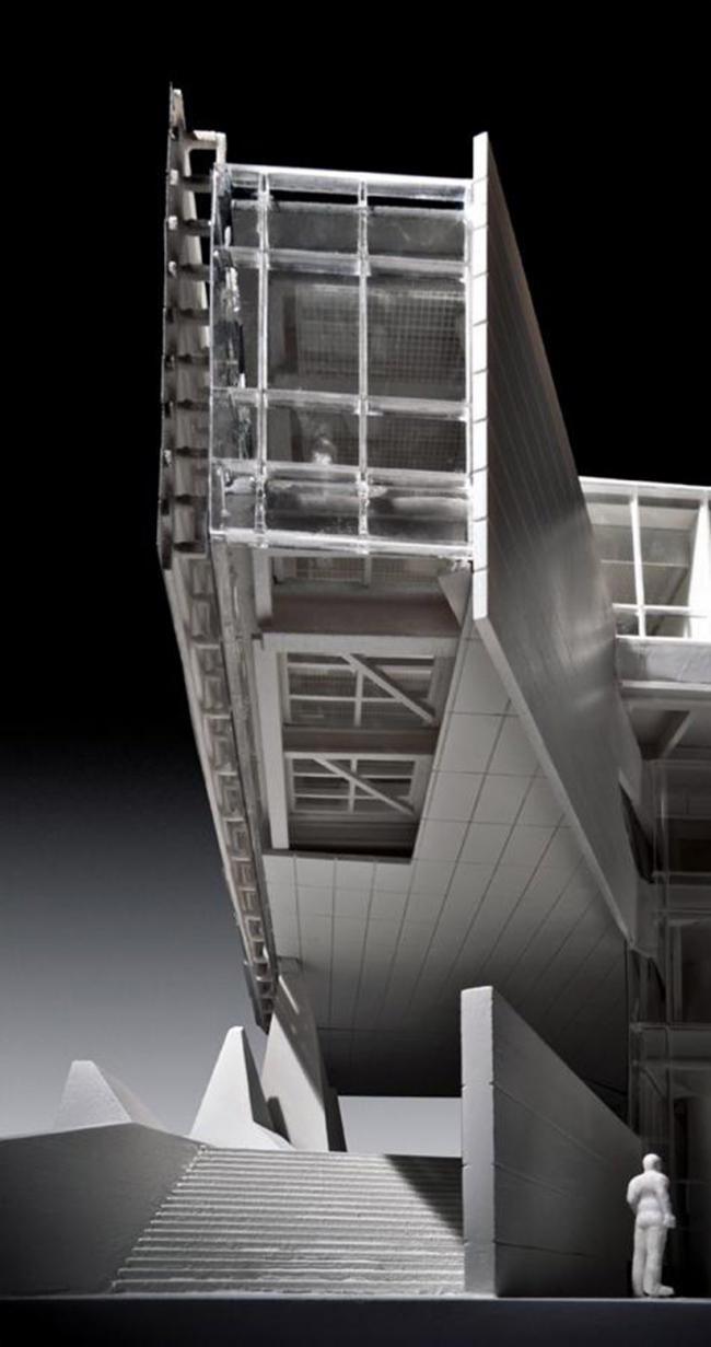 Корпус Билла и Мелинды Гейтс Корнельского университета © Morphosis Architects. Изображение с сайта morphopedia.com