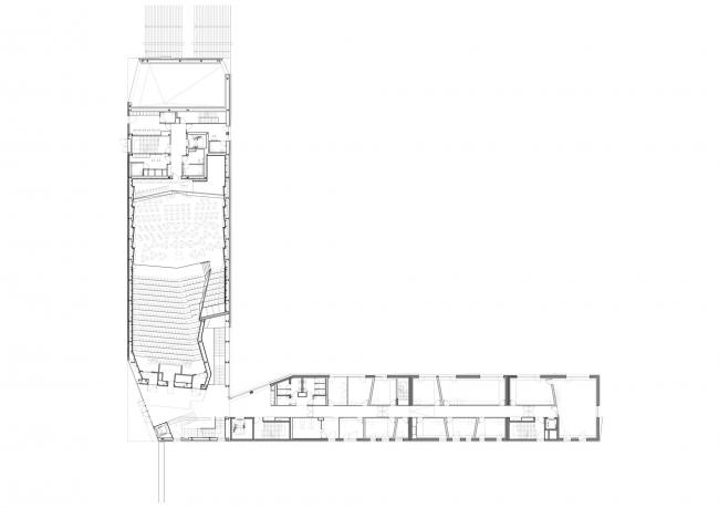 Консерватория им. Дариюса Мийо © Kengo Kuma & Associates