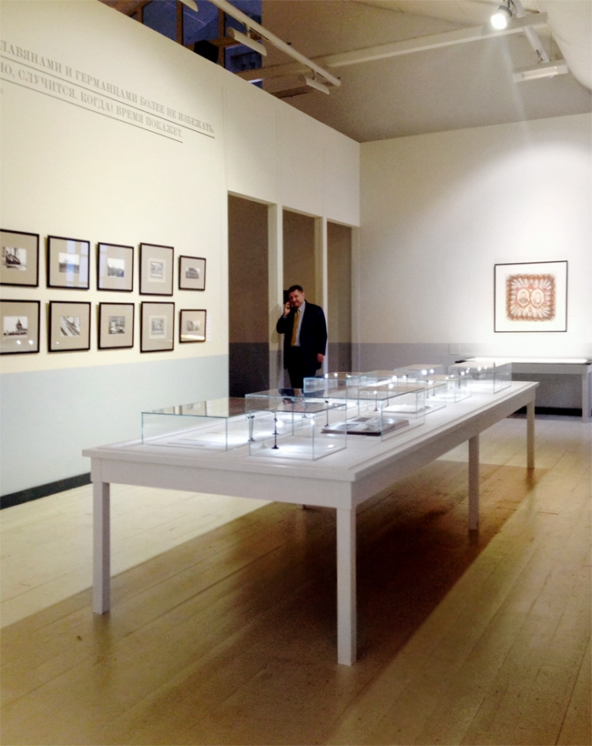 "Exhibition ""Look into the Eyes of War"" . Photo courtesy by Anna Bronovitskaya"