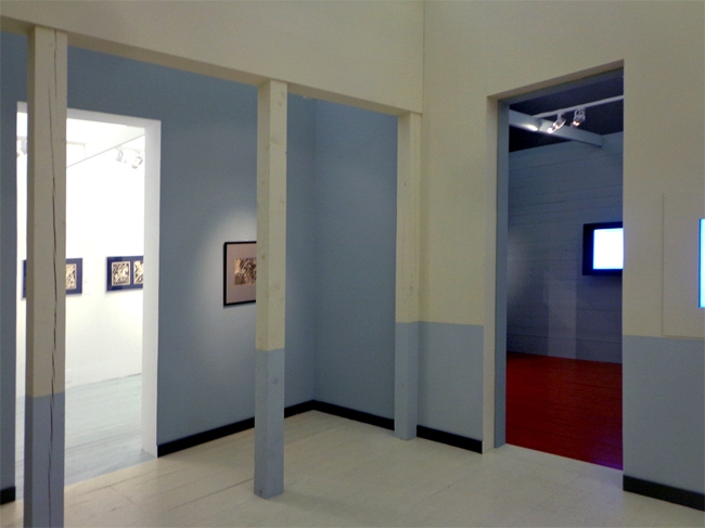 "Exhibition ""Look into the Eyes of War"" . Photo courtesy by Eugene Ace"