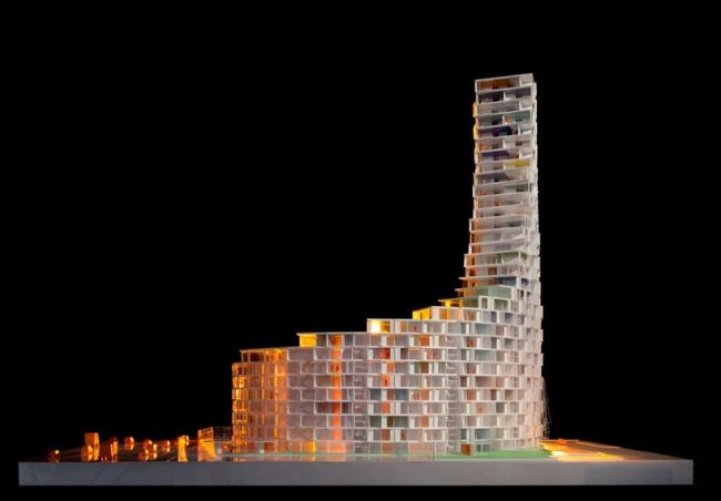 Жилая башня La Tour © Adam Mørk/3XN