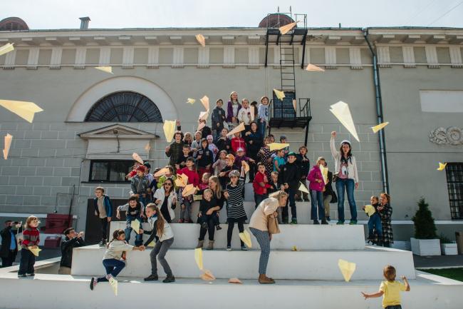 Детский праздник в Музее Москвы, 2014. Материалы предоставлены организаторами фестиваля