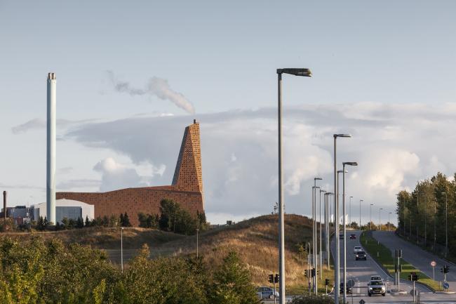 Мусоросжигательный завод в Роскилле © Designed by Erick van Egeraat /Tim Van de Velde