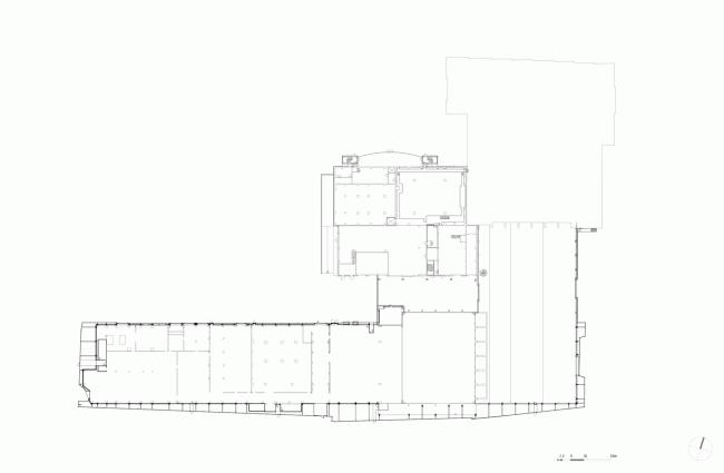 План 01. Мусоросжигательный завод в Роскилле © Designed by Erick van Egeraat