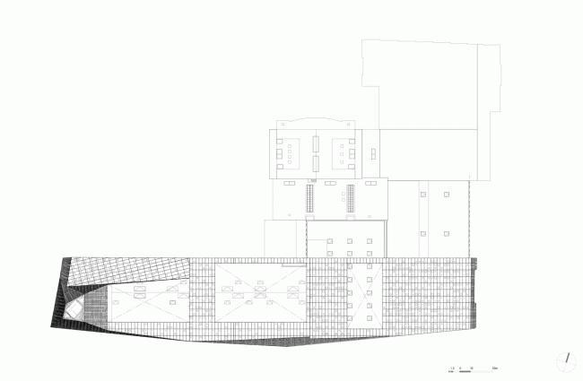 План 04. Мусоросжигательный завод в Роскилле © Designed by Erick van Egeraat