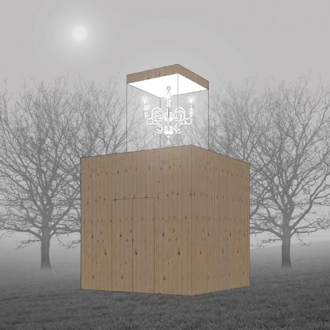 Проект жилого модуля для фестиваля YARKYFEST © Cтудия «ЛЕС», Санкт-Петербург, Россия