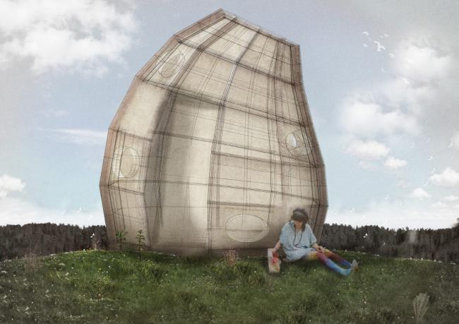 Проект жилого модуля для фестиваля YARKYFEST © Мигель Карро, Уго Риаль; Мадрид, Испания