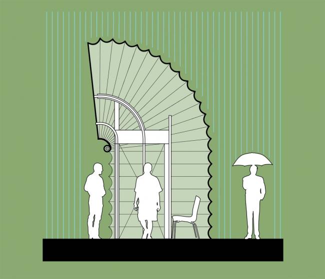 Проект жилого модуля для фестиваля YARKYFEST © Джошуа МакВей, Чикаго, США