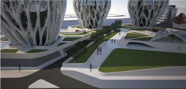 Жилой комплекс Grace on Coronation © Zaha Hadid Architects