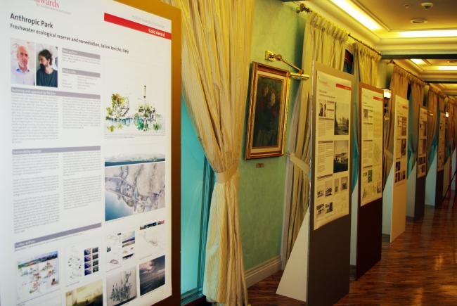 Экспозиция проектов-победителей. Фотография Аллы Павликовой