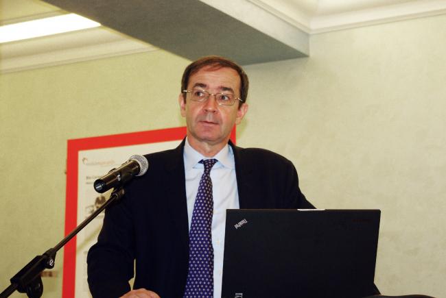 Бернард Фонтана, член жюри конкурса. Фотография Аллы Павликовой