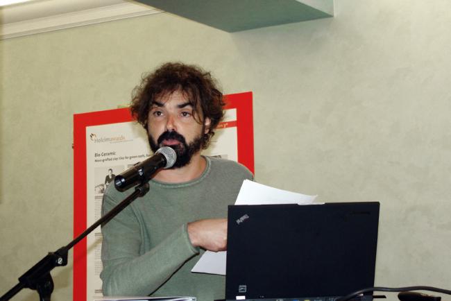 Франсиско Лейва (Francisco Leiva) из Grupo aranea. Фотография Аллы Павликовой