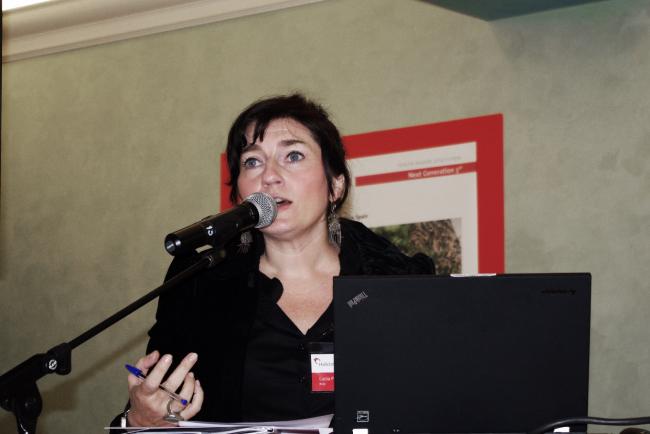 Лусия Пьерро (Lucia Pierro) из AutonomeForme. Фотография Аллы Павликовой