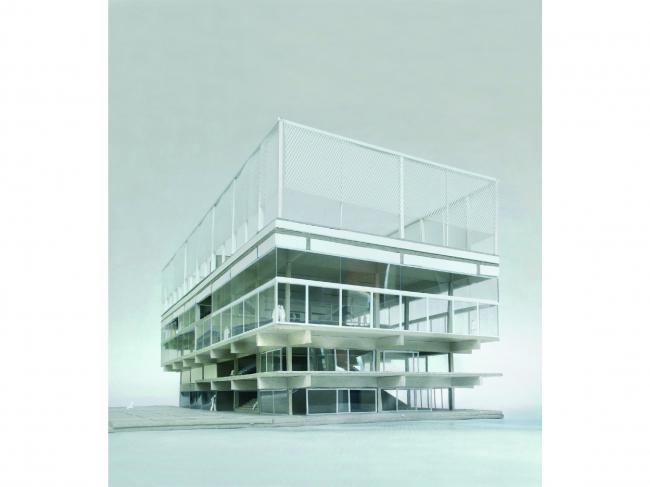 Серебряная награда. Проект многоцелевого здания университета в Париже, Франция. Бюро Muoto architects. Материалы предоставлены организаторами конкурса