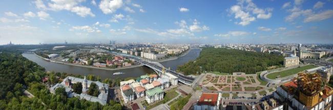 Панорама Москва-реки. Фото предоставлено НИиПИ Генплана