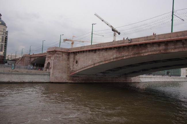 Большой Москворецкий мост. Фото: Дмитрий Кремер