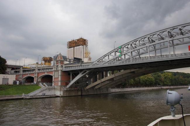 Новый Андреевский железнодорожный мост. Фото: Дмитрий Кремер